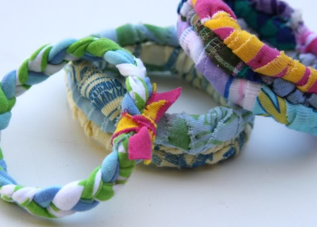 handmade colorful bangles