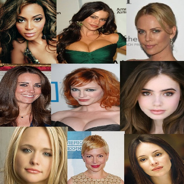 Top 10 Most Beautiful Women Of 2012